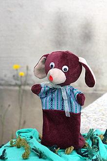 Hračky - Manuška. Zvieratko Psík Alík - 12698492_