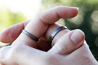 Prstene - Z kôry, užšia verzia - 12698680_
