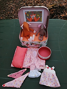 Hračky - Čarovný kufrík s líškou Anežkou - 12695379_