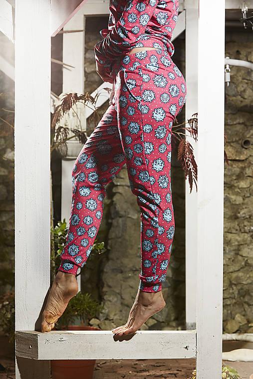Nohavice - Tepláky - CORONA - ružová - 12694732_