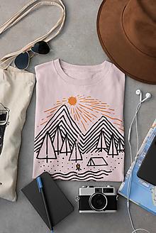 Tričká - Idylka - dámske tričko - pinky - 12698381_