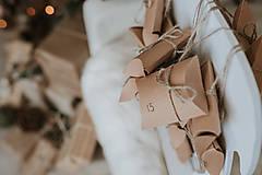 Dekorácie - Vianočný sob - hnedý 70 cm - 12694613_