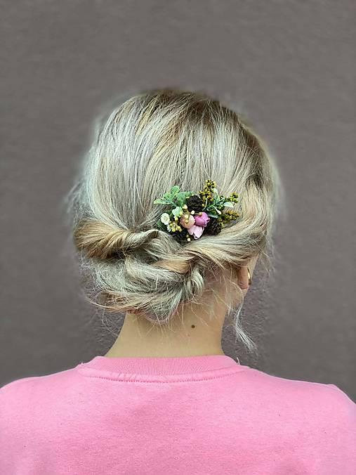 """Kvetinový mini hrebienok """"lesné tajomstvá"""" - 1"""