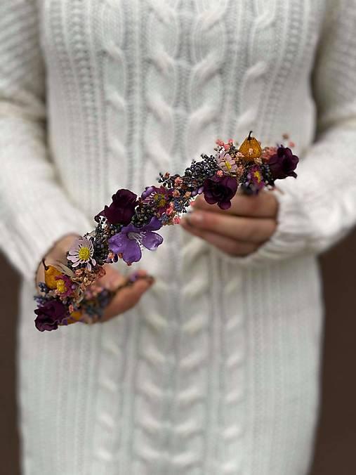 """Kvetinový venček """"dozrel deň"""""""
