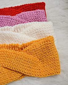 Čiapky - CHiC & Pretty... Turban čelenky... 10 farieb... SKLaDoM - 12703108_