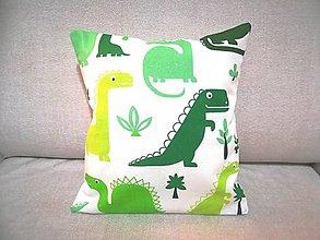 Úžitkový textil - MOJKÁČIK - Detský mojkací vankúšik na spanie s vôňou levandule (Dino) - 12702329_