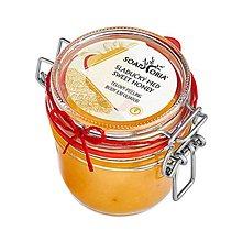 Drogéria - Sladučký med - organický soľný telový peeling - 12701929_