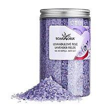 Drogéria - Levanduľové pole - soľná zmes do kúpeľa - 12702133_