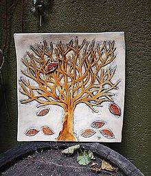 Nádoby - Misa Strom - Jeseň - 12701711_
