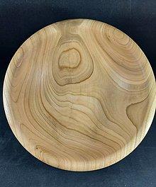 Nádoby - miska z čerešnového dreva - 12700834_