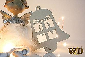 Dekorácie - Vianočné drevené ozdoby - 12704089_