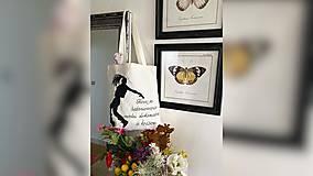 Nákupné tašky - ♥ Plátená, ručne maľovaná taška ♥ - 12701237_