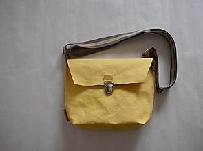 "Kabelky - Passport bag ""Yellow"" - 12702716_"