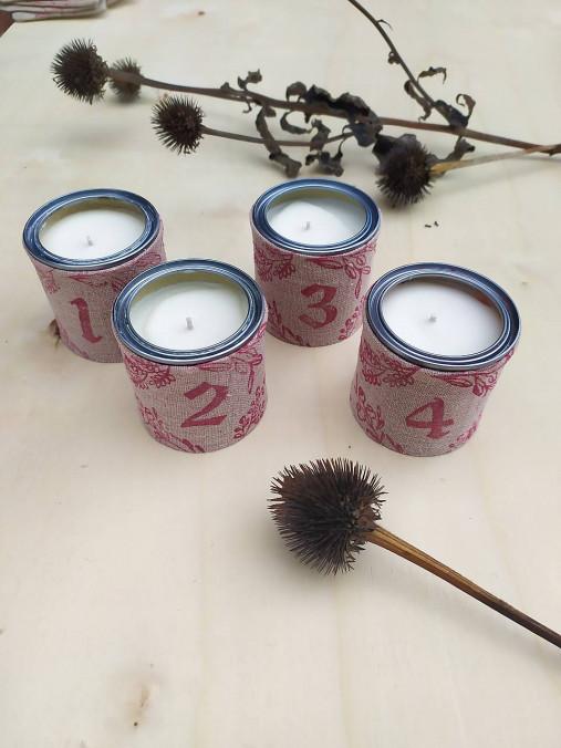 Adventné sviečky II. - sada 4 ks