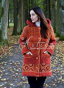 Kabáty - Kabátik TERRACOTTA TOUCH - 12702857_