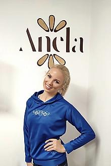 Mikiny - Anela mikina Modrá - 12703872_