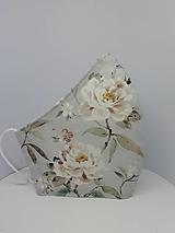 """Rúška - Bavlnené rúška """"ruže"""" - 12699770_"""