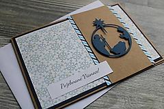"""Papiernictvo - ...pohľadnica vianočná """"Svätá rodina""""... - 12699738_"""
