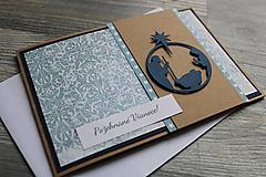 """Papiernictvo - ...pohľadnica vianočná """"Svätá rodina""""... - 12699741_"""