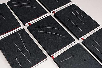 Papiernictvo - Týždenný diár 2021 malý (biela obálka (s čiernym šitím) - vypredaný) - 12699969_