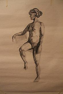 Kresby - Ženské akty - 12703890_