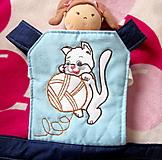 Hračky - Mačiatko- nosič pre bábiku - 12700264_