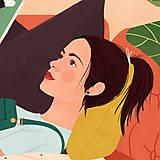 Grafika - Doma - umělecký tisk, 30 × 30 - 12705185_