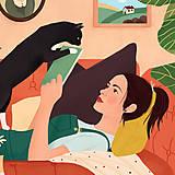 Grafika - Doma - umělecký tisk, 30 × 30 - 12705186_
