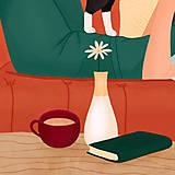Grafika - Doma - umělecký tisk, 30 × 30 - 12705188_