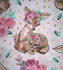 Úžitkový textil - MOJKÁČIK - Detský mojkací vankúšik na spanie s vôňou levandule (Srnky) - 12706062_