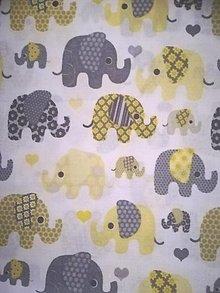Úžitkový textil - MOJKÁČIK - Detský mojkací vankúšik na spanie s vôňou levandule (Sloniky) - 12706074_