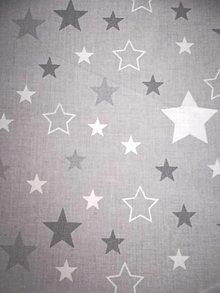 Úžitkový textil - MOJKÁČIK - Detský mojkací vankúšik na spanie s vôňou levandule (Hviezdy) - 12706092_