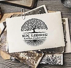 Nezaradené - Pečiatka EX LIBRIS Strom života - 12705110_
