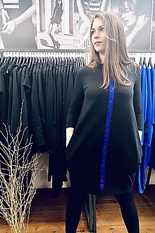 Šaty - FNDLK úpletové šaty 488 BVqL_glitter - 12705655_