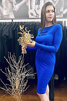 Šaty - FNDLK úpletové šaty 489 RuVdL _glitter - 12705671_