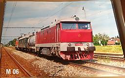 Dekorácie - Plagát lokomotíva Bardotka - 12707250_