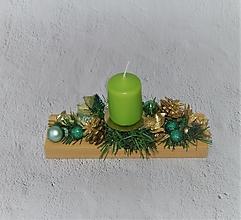 Svietidlá a sviečky - Svietnik 51 - vianočný - 12706289_