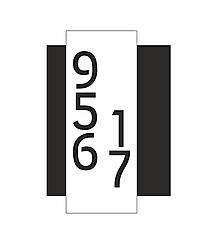 Tabuľky - Číslo na dom urban na želanie - 12707185_