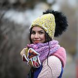 Čiapky - Origo dámsky set domčeky - 12708161_