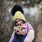 Čiapky - Origo dámsky set domčeky - 12708173_