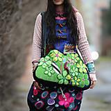 Veľké tašky - Origo taškoš  kvety limit - 12708189_