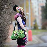 Veľké tašky - Origo taškoš  kvety limit - 12708190_