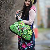 Veľké tašky - Origo taškoš  kvety limit - 12708191_