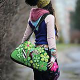 Veľké tašky - Origo taškoš  kvety limit - 12708193_