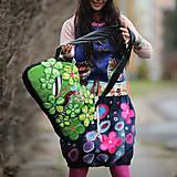 Veľké tašky - Origo taškoš  kvety limit - 12708194_