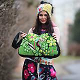 Veľké tašky - Origo taškoš  kvety limit - 12708195_