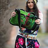 Veľké tašky - Origo taškoš  kvety limit - 12708196_