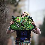 Veľké tašky - Origo taškoš  kvety limit - 12708199_