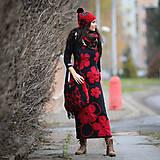 Šaty - Origo šatoš rolákoš samé kvety - 12708405_