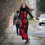 Šaty - Origo šatoš rolákoš samé kvety - 12708410_